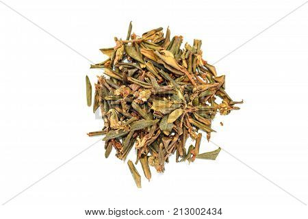Pile Of Dried Rhododendron Adamsii, Sagan Dyilya For Tea