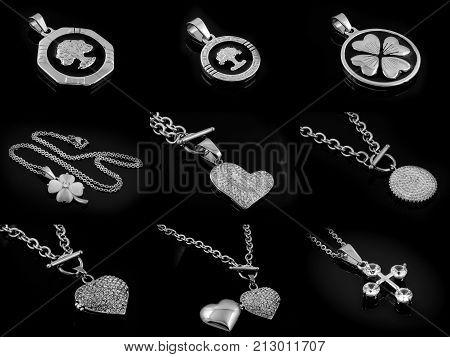 Necklace And Pendant Photo Compilation