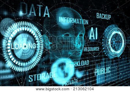 Technology And Biometric Concept