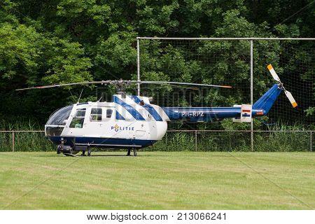 Netherlands Police Helicopter Bo105