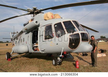 Croatian Air Force And Air Defence Mil Mi-171Sh Transport Helicopter