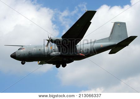 French Air Force C-160 Transall Cargo Plane