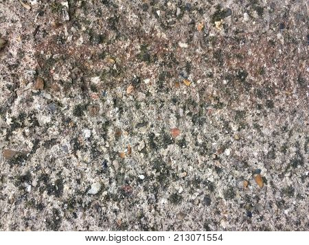 Abstract texture for designers with fragment of cement wall