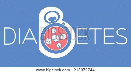 Banner Of Diabetes Mellitus Diagnosis