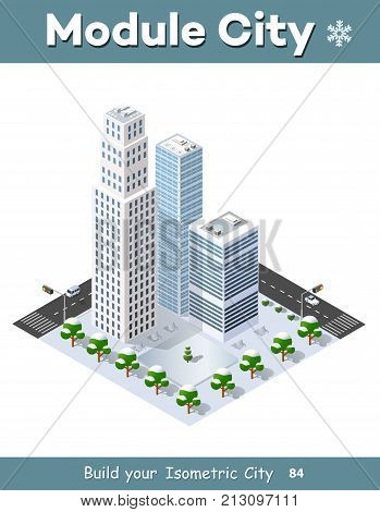 Isometric Module Vector & Photo (Free Trial) | Bigstock