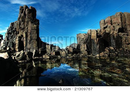 Coastal Rock Formations
