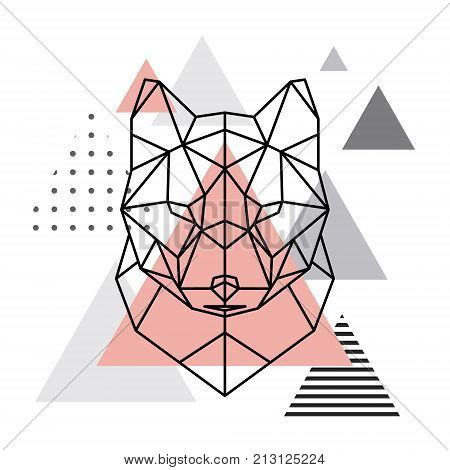 wolf head images illustrations vectors wolf head stock photos images bigstock. Black Bedroom Furniture Sets. Home Design Ideas