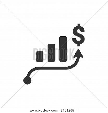 Smart, Beautiful, Meticulously Designed Business Growth Icon