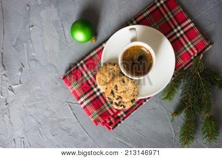 Christmas Cup Of Coffee