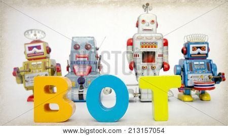 robots and the word BOT