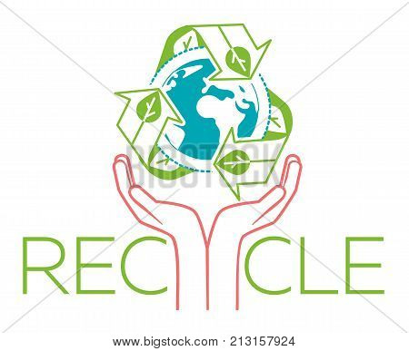 Banner About Recycle Hands