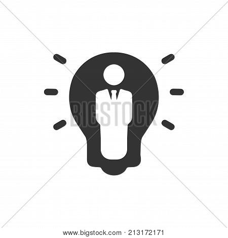 Smart, Beautiful, Meticulously Designed Creative Business Idea Icon