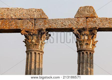 Diana Roman Temple, Evora
