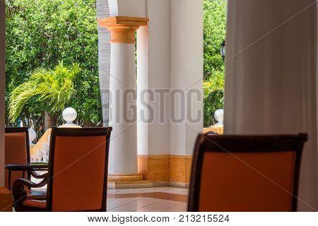 View Of The Cuban Interior, Varadero, Matanzas, Cuba. Close-up.