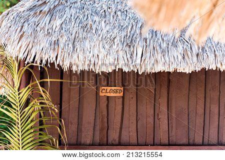View Of The Building, Varadero, Matanzas, Cuba. Close-up.