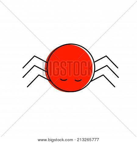 Bug of insect beetle and pest theme Isolated design Vector illustration