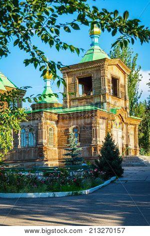 Orthodox Church, Karakol, Kyrgyzstan
