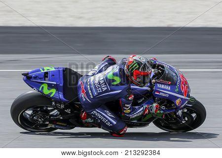 Maverick Vinales Of Spain And Movistar Yamaha Motogp