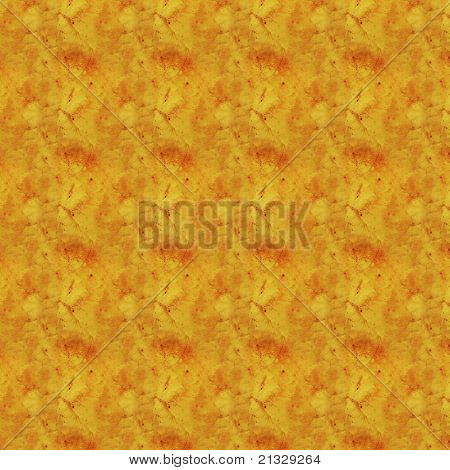 Yellow Grunge Pattern