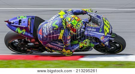 Valentino Rossi Of Italy And Movistar Yamaha Motogp
