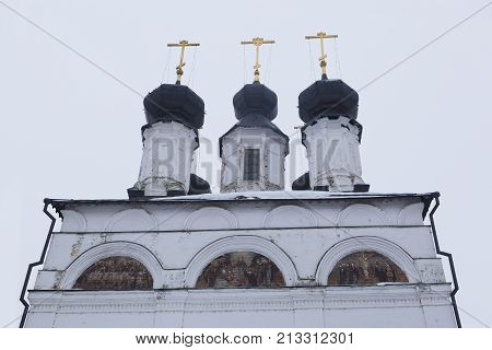 Dome Procopius the Righteous in Veliky Ustyug, Vologda region, Russia