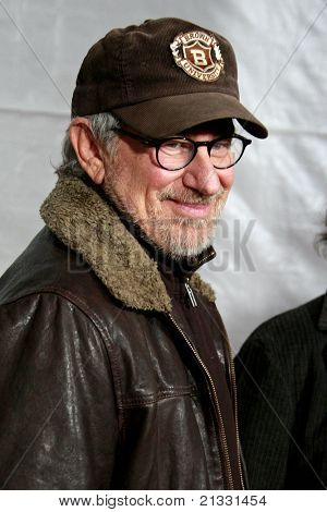 LOS ANGELES, CA - DEC 7: Steven Spielberg at the premiere of 'The Lovely Bones' held at the Mann's Grauman Chinese Theater in Los Angeles, California on December 07, 2009