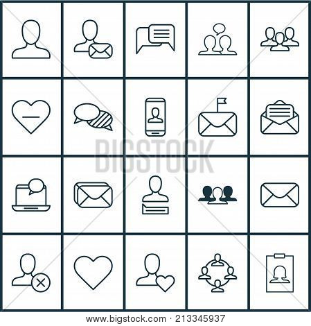 Includes Icons Such As Privacy Information, Ban, Significant And Other.  Network Icons Set.