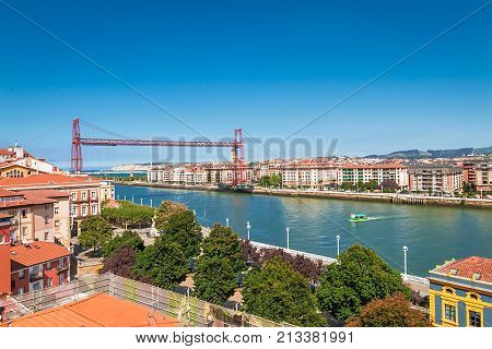 The Vizcaya Bridge is a transporter bridge that links the towns of Portugalete and Las Arenas close to Bilbao, Basque Country, Spain. It is the worlds oldest transporter bridge, it was built in 1893