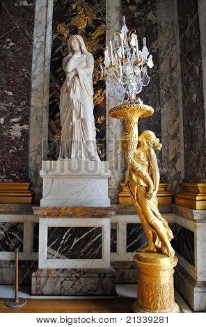 Statues in Versailles