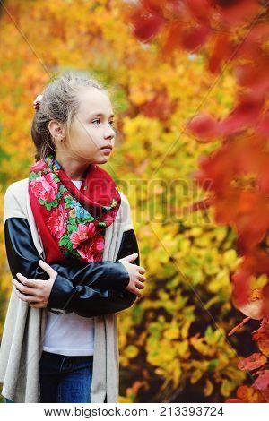 Preteen Girl Outdoors
