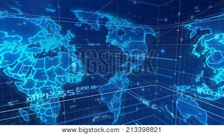 Digital Mass Media World Map