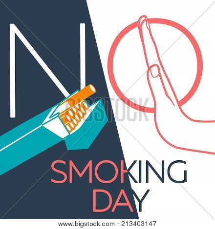 Banner  No Smoking Day Linear