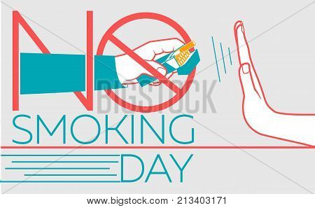 Banner  No Smoking Day