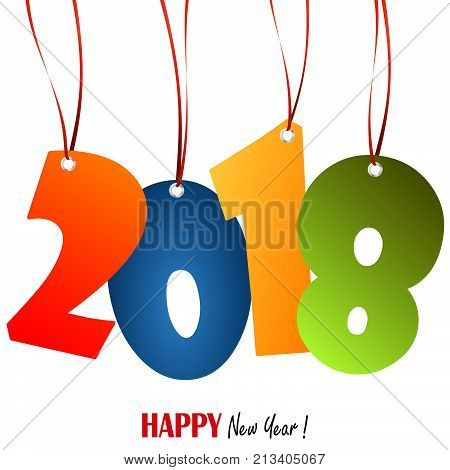 Hanging Numbers New Year 2018