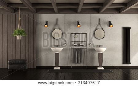 Classic Bathroom With Washbasin