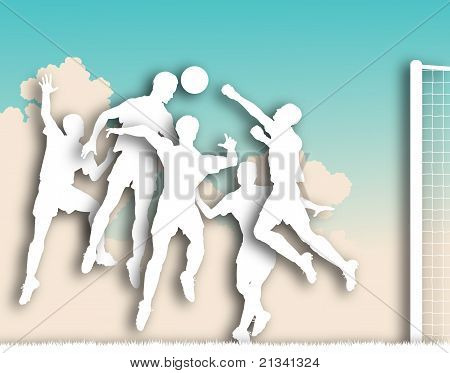 Soccer Game Cutout