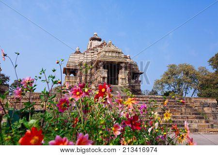 Devi Jagdambi Temple, Dedicated To Parvati, Western Temples Of Khajuraho, India.