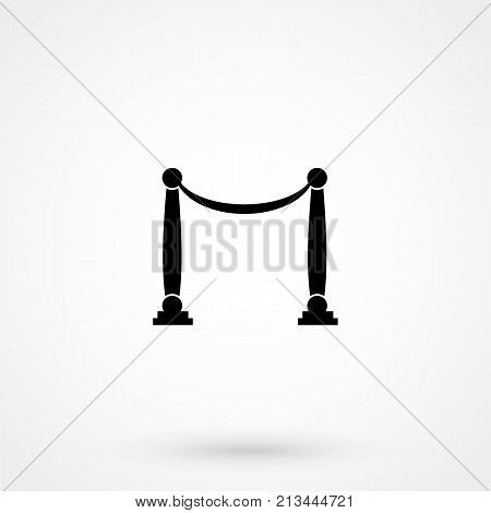 Grand Opening Icon On White Background. Vector Illustration.
