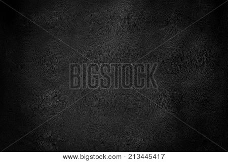 Black leather texture background, Leather black background.