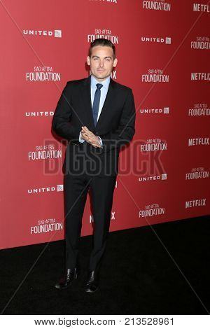 LOS ANGELES - NOV 9:  Kevin Zegers at the Patron of the Artists Awards 2017 at Wallis Annenberg Centeron November 9, 2017 in Beverly Hills, CA