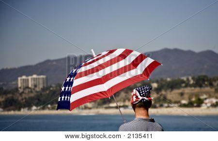 Patriotic Beachwear