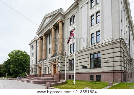 House Of Ministry Of Foreign Affairs Of Latvia
