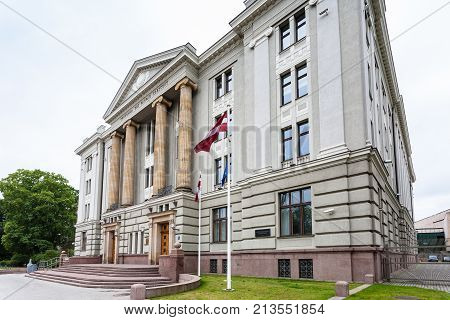 Palace Of Ministry Of Foreign Affairs Of Latvia