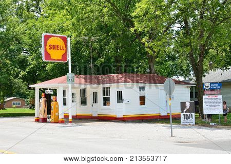 Soulsby Service Station In Mount Olive, Illinois.