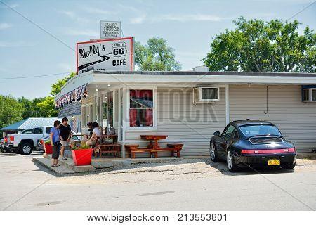 Shellys Route 66 Cafe In Cuba.