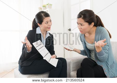 Insurance Advisor Lady Showing Scheme Contract