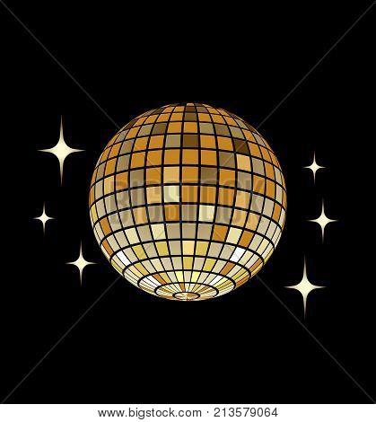 Disco ball Vector icon Disco ball Vector icon