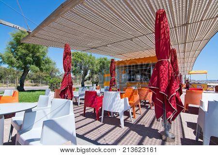 Balneario Cafe Playa De Palma