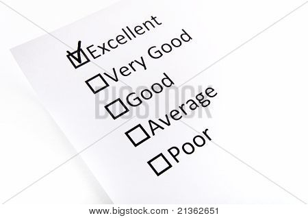 Test Check Boxes With The Black Mark