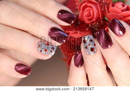 Awesome Nails And Beautiful Clean Manicure.
